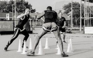 Rico Verhoeven in training